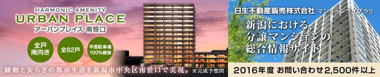 新潟でのマンション探しは、日生不動産販売マンションライブラリ 年間お問い合わせ件数 1,000件以上、高い信頼と実績でお応えいたします
